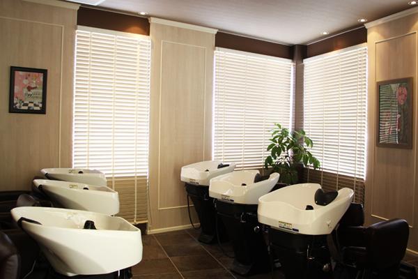 美容室アンジュ 大豆島 シャンプーブース